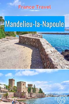Mandelieu-la-Napoule Beach Walk on Cote d'Azur includes two ports, two castles, three beaches, and a rock tunnel. Mandelieu-la-Napoule is reachable from Cannes and Nice by public transportations. France Travel Guide | Provence Travel tips | Cote d'Azur travel tips | French Riviera Travel Tips | where to go in France | Where to visit in Provence | Mandelieu-la-Napoule #France #法国 #familytravel #provence #cotedazur # MandelieulaNapoule #beautifulplace #franceroadtrip #frenchriviera #beach Europe Travel Guide, France Travel, Travel Guides, Places In Europe, Places Around The World, Pictures Of Beautiful Places, Hidden Places, Beach Walk, French Riviera