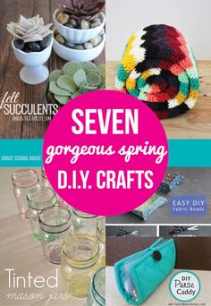 Spring is in the air! Well, almost. Are you excited for the spring? Here are 7 gorgeous spring crafts to excite and motivate you for the upcoming season.