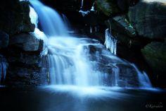 silent cascade - Icy waterfall in the Loch, Central Park, New York by Katsuhiro Kaneko on 500px #travel #newyork #usa