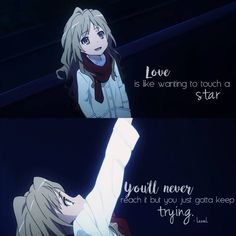 This side of Taiga wanting to love is pretty cute <3 Toradora