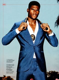 Twice as Vice / Broderick Hunter in GQ Italia / Photographer: