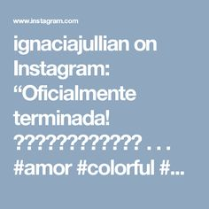 "ignaciajullian on Instagram: ""Oficialmente terminada! ❤️❤️❤️❤️❤️❤️ . . . #amor #colorful #color #embroideredtshirt #embroidery #embroideredflowers #fullcolor #diy #bordados"""