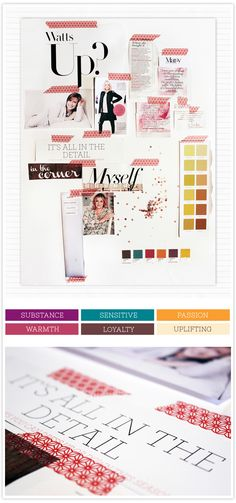 Vision Board & Colour Palette