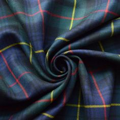 Tartan - Black Watch & Yellow Box Tartan Fabric, Suit Fabric, Wool Fabric, Kilt Accessories, Fabric Board, Scottish Kilts, Tartan Pattern, Dog Coats, Plaid Scarf