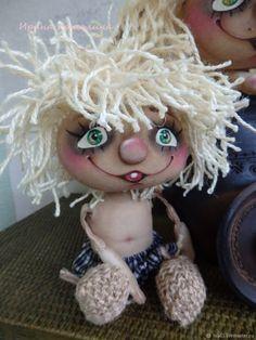 Купить Домовёнок Кузя - текстильная игрушка на счастье в интернет магазине на Ярмарке Мастеров
