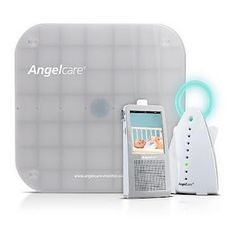 This would have to be the most awesome baby monitor EVER! It has a video monitor, PLUS the baby lays on the mat and if baby stops breathing an alarm goes off so you can get to the baby as soon as possible!