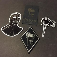 Check out this new #patch and #stickers from @birdovprey. . Available in his store now along with other great patches #tees and more. . Check them all out today. The link is clickable in his bio. . #patchgame #birdovprey #patch #patches LAPELPIN...