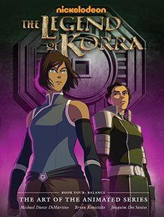The Legend of Korra: The Art of the Animated Series - Book Four (Avatar: The Last Airbender): Michael Dante DiMartino, Bryan Konietzko: 9781616556877: Amazon.com: Books