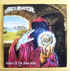 HELLOWEEN - Keeper of the seven Keys - Part I - mint minus - Vinyl LP - FOC  OIS