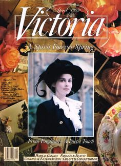 Victoria Magazine VOL 3 Issue 2 April 1989 ~ A Spirit Forever Spring