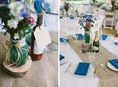 erin & jason   celebrity dairy farm wedding   rustic diy decor