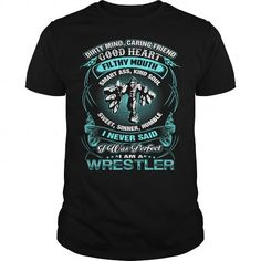 I AM A WRESTLER T Shirts, Hoodies. Get it now ==► https://www.sunfrog.com/TV-Shows/I-AM-A-WRESTLER-Black-Guys.html?57074 $22.99
