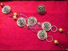 ▶ DIY Cómo hacer un collar de cápsulas de café!!! Pineado por www.estrellasdeweb.blogspot.com