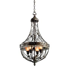 Kichler Lighting 42230TRZ Marchesa 4-Light Foyer Pendant, Terrene Bronze with Piastra Glass Kichler Lighting,http://www.amazon.com/dp/B002LN80RE/ref=cm_sw_r_pi_dp_PPejtb1PX1Z6MQHM