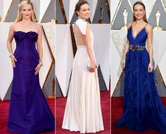 This Is the Spring 2016 Trend That Took Over the Oscars Red Carpet Oscar Gowns, Oscar Dresses, Red Carpet Ready, Red Carpet Looks, Oscar Fashion, High Fashion, Strapless Dress Formal, Formal Dresses, Long Dresses