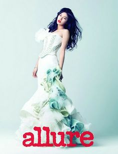 Suzy and Jia miss A Allure Magazine December 2012