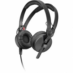 Sennheiser HD 25-1 II - On Ear DJ Headphone - Noise Reduction, Powerful bass response