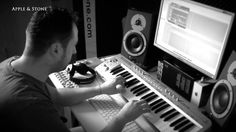 """AUTHENTIC REACTION (PLAYED IN STUDIO) Apple & Stone - This is our original version of our Authentic Reaction. It was created in autumn 2008 and never released. The song which has changed everything and was chosen by André Tanneberger alias ATB +, remixed and released on his """"Future Memories"""" album.  website - http://www.appleandstone.com"""