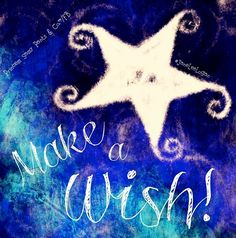 Make a wish quote and illustration via www.Facebook.com/PrincessSassyPantsCo