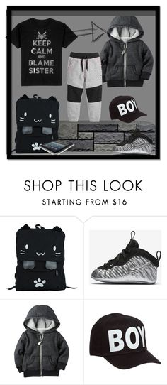 """""""COOL KID"""" by nanni33 ❤ liked on Polyvore featuring Urban Pipeline, NIKE and BOY London"""