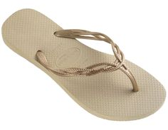 2a78e2743 Check out the deal on havaianas flash sweet  sand grey light golden at Agua  Viva USA