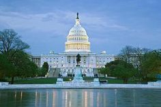 USA, Washington DC, Capitol building at dusk - Dennis Flaherty/DigitalVision/Getty Images