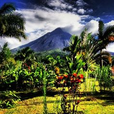 Arenal Volcano on a beautiful, clear day! - Courtesy of Jess C.