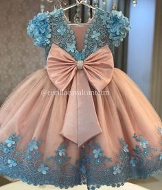 The Effective Pictures We Offer You About baby girl dresses months A quality picture can tell yo Baby Girl Frocks, Baby Girl Party Dresses, Cute Girl Dresses, Wedding Flower Girl Dresses, Frocks For Girls, Kids Frocks, Little Girl Dresses, 1st Birthday Girl Dress, African Dresses For Kids