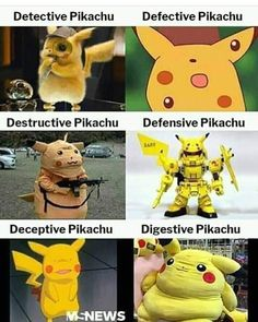 Picture memes — iFunny Detective Pikachu Defective Pikachu – popular memes on the site [& The post Picture memes — iFunny appeared first on Trending Hair styles. Crazy Funny Memes, Really Funny Memes, Stupid Funny Memes, Funny Relatable Memes, Funniest Memes, Funny Stuff, Pikachu Memes, Pikachu Pikachu, Pokemon Funny