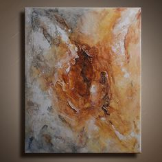 Original Abstract Textured Painting on Canvas by itarts on Etsy, $139.00