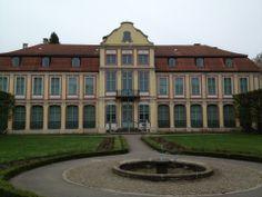 Park Oliwski w Gdańsk Abbots Palace in Oliwa, next to Oliwa Cathedral