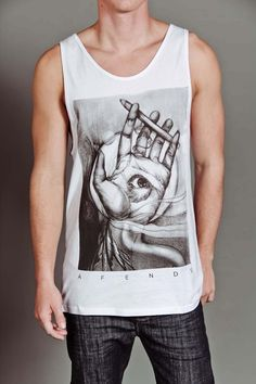 AFENDS IN HAND SIGHT TANK TOP