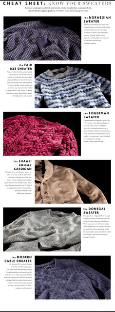 J.Crew Men's - Know Your Sweaters