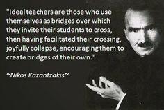 Νikos Kazantzakis  -  check mijn bord Levensfilosofie voor meer Wunderfull Kazantzakis!!!