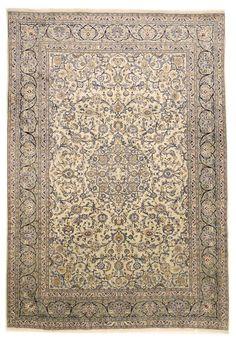Kashan Handgeknüpft orientalisch Teppich Perser 394 x 293 orient matto Rugs