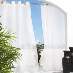 Sheer Gromnet Curtain Panel- $34.95