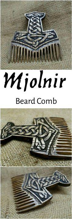 Mjolnir beard comb /