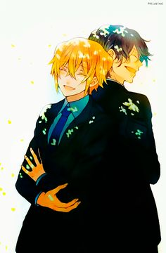 """my sweet children!! (Vincent and Gilbert Nightray 