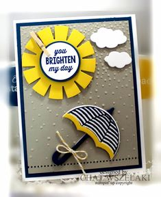 Hello Peeps !!!     Happy Tuesday !!!     I did this card for my class using the Weather Together stamp set and sunburst Sayings ...