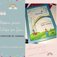 Kidsroom, Birth, About Me Blog, Rainbow, Posts, Frame, Decor, Bedroom Kids, Decoration