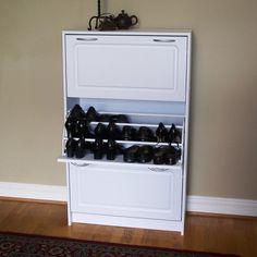 4D Concepts Storage and Organization Deluxe Triple Shoe Cabinet & Reviews   Wayfair
