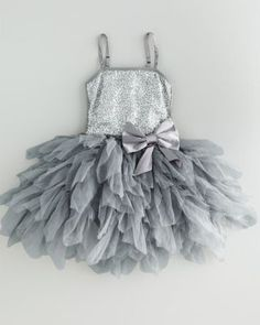 Sequined Tutu Dress by Ooh! - Baby Girls Girls my-bro-is-getting-married Little Girl Fashion, My Little Girl, Little Girl Dresses, My Baby Girl, Kids Fashion, Flower Girl Dresses, Baby Girls, Flower Girls, Bebe Love