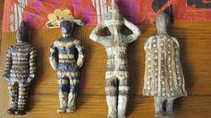 Onas de ceramica de gres, hechos por mi en taller Lise Moller A la Deriva