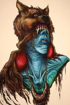 'Cynophobia' by Alex Pardee