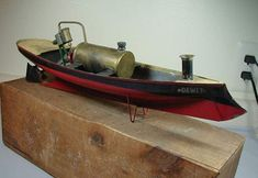 Steam Boats, Pond Life, Vintage Boats, Old Boats, Electric Train, Best Abs, Steam Engine, Model Ships, Boat Building