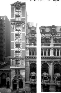 Daytonian in Manhattan: The Lost Seymour Hotel -- 44 West 45th Street.another view.