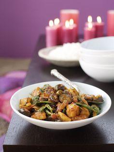 Potato Curry With Aubergine // Pikáns, egzotikus, egészséges: padlizsános krumplicurry / Éva Magazin