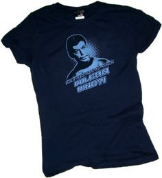 "Dr. McCoy ""Are You Out of Your Vulcan Mind?"" -- Star Trek Crop Sleeve Fitted Juniors T-Shirt $22.95"