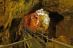 Jewel Cave National Monument, South Dakota (second longest cave in the world) Near Mount Rushmore