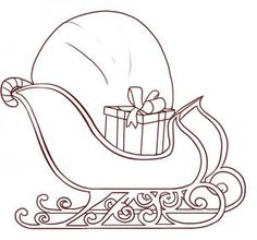 how to draw santas sleigh step 5